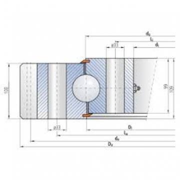 Revolving platforms slewing ring MTO-143T