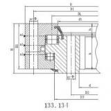 R934 excavator slewing ring for excavator slewing bearing